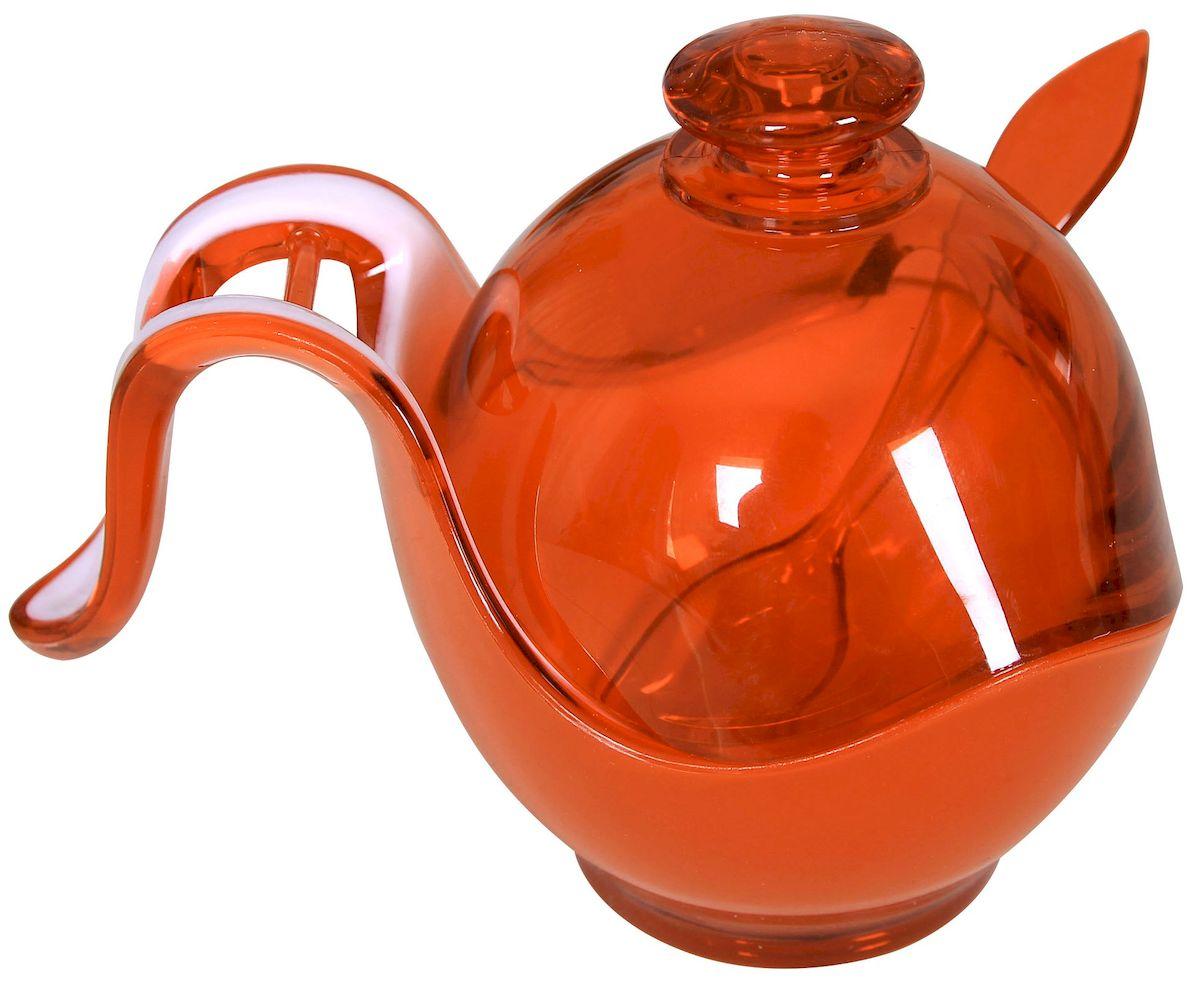 Сахарница для прессованного сахара Indecor, цвет: коричневый. IND576cIND576c