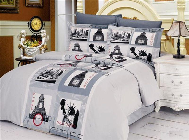 Комплект белья Le Vele Cities, 2-спальный, наволочки 50х70. 740/5740/5