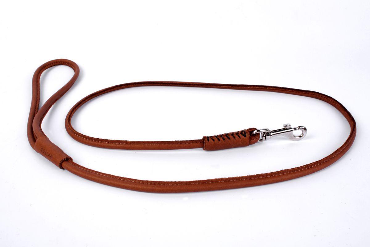 Поводок CoLLaR SOFT, цвет: коричневый, диаметр 6 мм, длина 122 см04916Поводок CoLLaR SOFT круглый (диаметр 6мм, длина 122см) коричневый