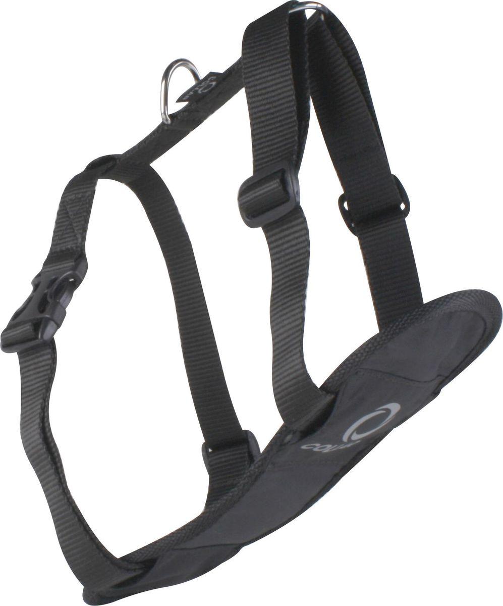 Шлейка Dog Extremе COMFORT, цвет: черный, ширина 20 мм, обхват груди: 50-80 см0708Шлея Dog Extremе COMFORT (ширина 20мм В:50-80см) чёрная