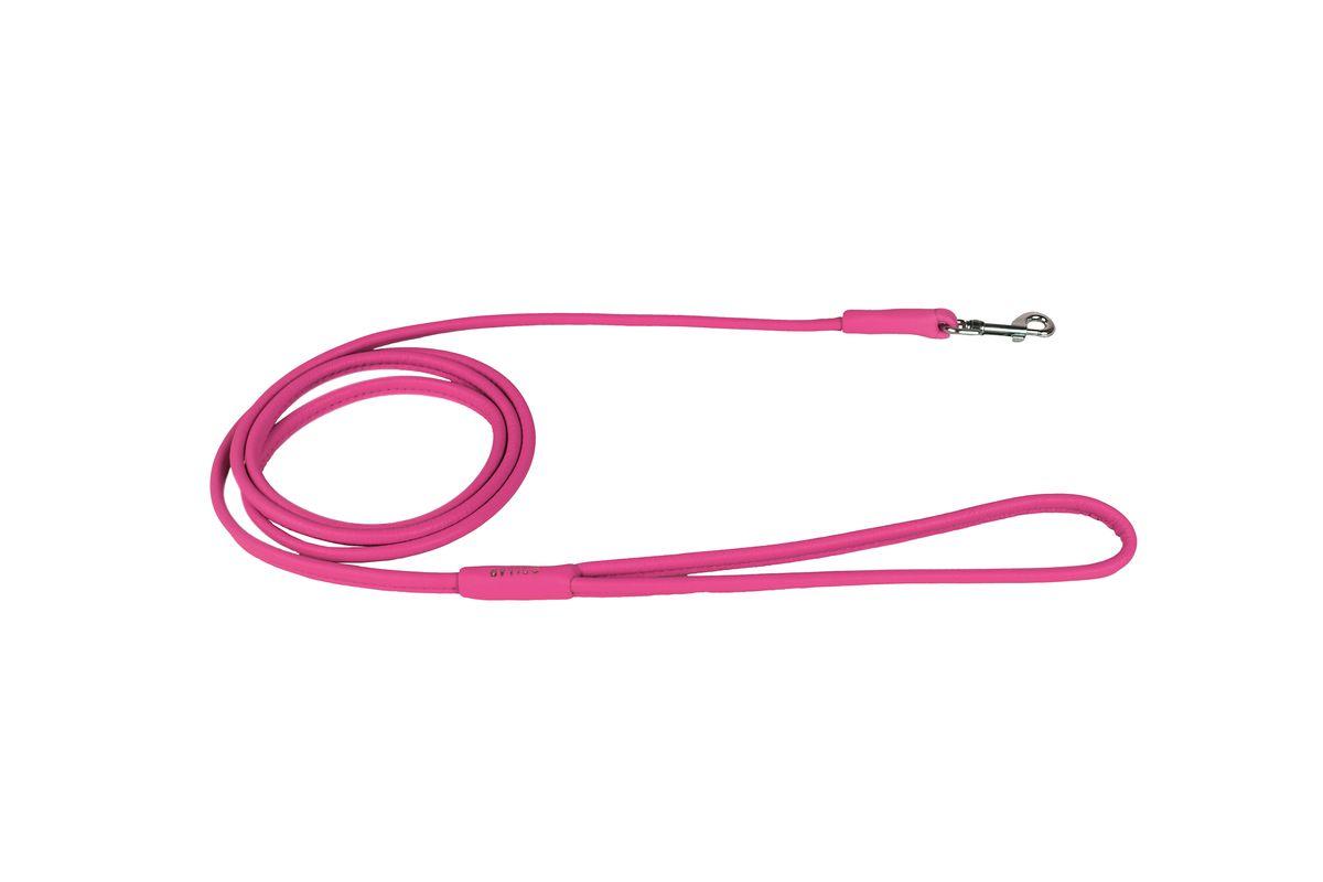 Поводок CoLLaR Glamour , цвет: розовый, ширина 6 мм, длина 183 см34387Поводок CoLLaR GLAMOUR круглый (ширина 6мм, длина 183см) розовый