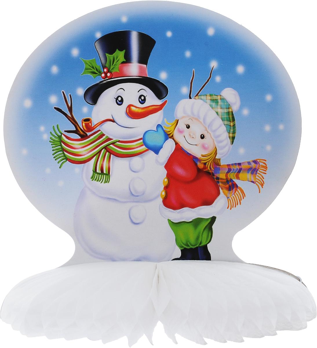 Украшение новогоднее подвесное Winter Wings Зима, 19,5 х 21 смN09257Оригинальное новогоднее украшение Winter Wings Зима выполнено из прочной бумаги. Украшение можно подвесить в любом понравившемся вам месте. Новогодние украшения приносят в дом волшебство и ощущение праздника. Создайте в своем доме атмосферу веселья и радости, украшая его всей семьей. Размер: 19,5 х 21 см.