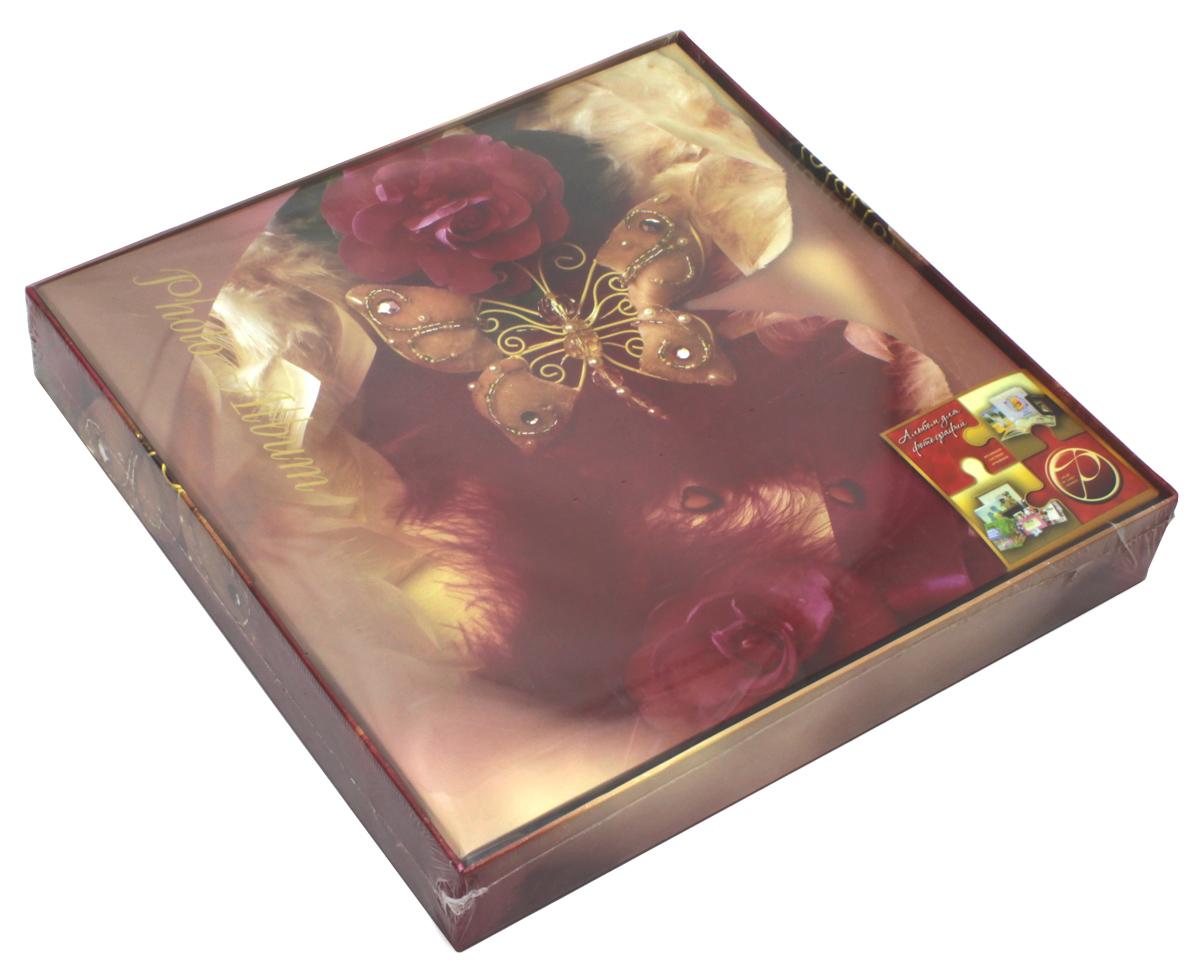 Фотоальбом Pioneer Butterfly Dream, 20 магнитных листов, 28 х 31 см. 12467439793/9781БФотоальбом Butterfly Dream поможет красиво оформить ваши фотографии. Обложка, выполненная из толстого ламинированного картона, оформлена ярким изображением. Альбом с магнитными листами удобен тем, что он позволяет размещать фотографии разных размеров. Тип переплета - болтовой. Материалы, использованные в изготовлении альбома, обеспечивают высокое качество хранения ваших фотографий, поэтому фотографии не желтеют со временем. Магнитные страницы обладают следующими преимуществами: - Не нужно прикладывать усилий для закрепления фотографий; - Не нужно заботиться о размерах фотографий, так как вы можете вставить в альбом фотографии разных размеров; - Защита фотографий от постоянных прикосновений зрителей с помощью пленки ПВХ. Нам всегда так приятно вспоминать о самых счастливых моментах жизни, запечатленных на фотографиях. Поэтому фотоальбом является универсальным подарком к любому празднику. Количество...