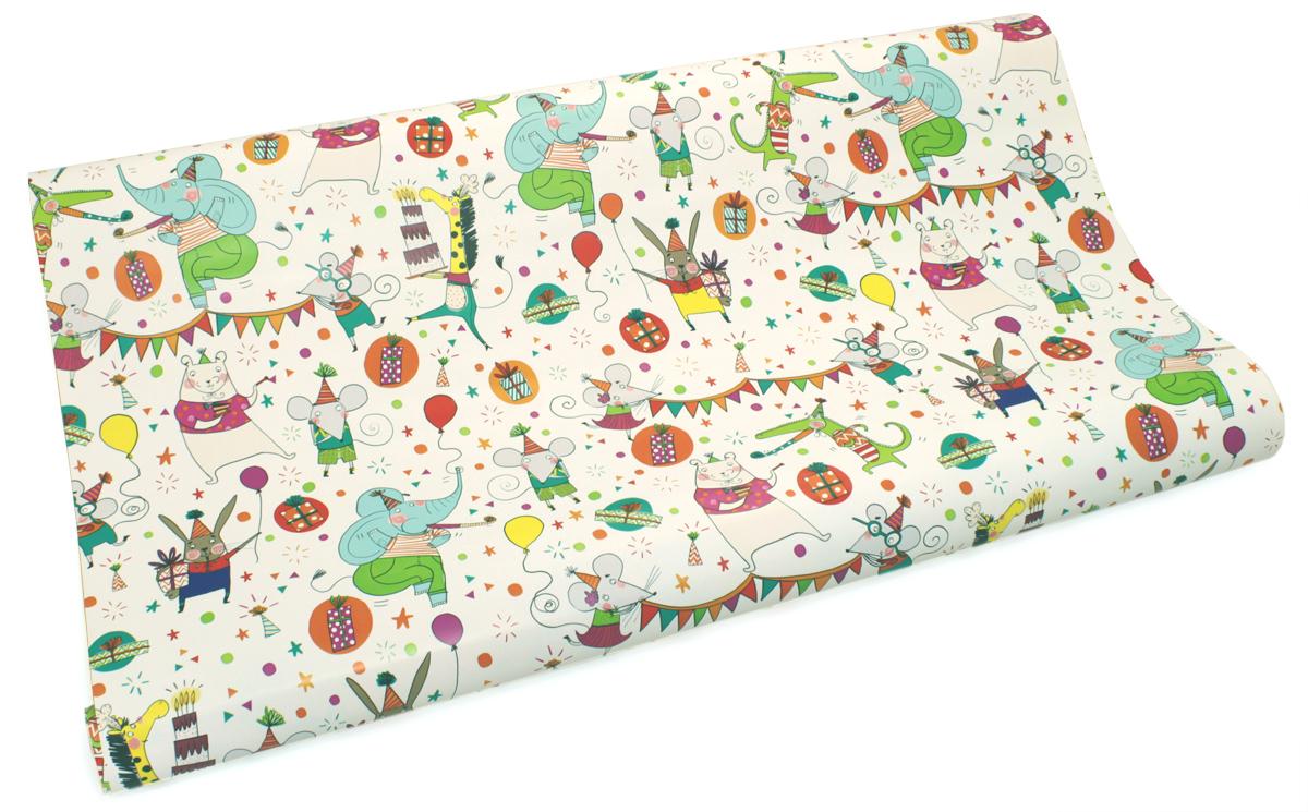Бумага упаковочная Brunnen Fiesta, 70 х 200 см286926-60\STWНевероятная по красоте подарочная бумага. Подарочная бумага поможет украсить подарок, цветы и маленькие безделушки. Купили бумагу? Не забудьте купить ленточки, ведь без них образ не будет закончен.