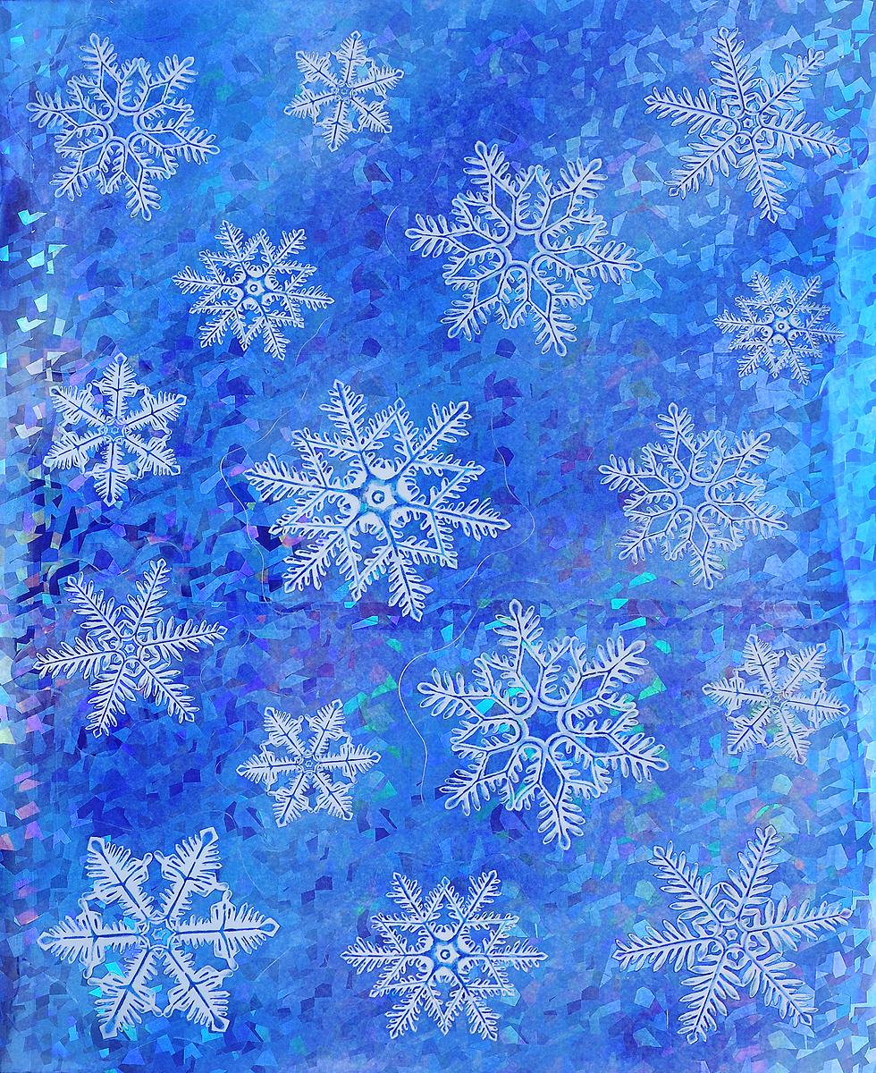 Украшение новогоднее оконное Winter Wings Снежинки, 16 штN09275Новогоднее оконное украшение Winter Wings Снежинки поможет украсить дом к предстоящим праздникам. Наклейки изготовлены из ПВХ и выполнены в виде снежинок. С помощью этих украшений вы сможете оживить интерьер по своему вкусу, наклеить их на окно, на зеркало или на дверь. Новогодние украшения всегда несут в себе волшебство и красоту праздника. Создайте в своем доме атмосферу тепла, веселья и радости, украшая его всей семьей. Размер листа: 38 х 30 см. Средний диаметр наклейки: 9 см.