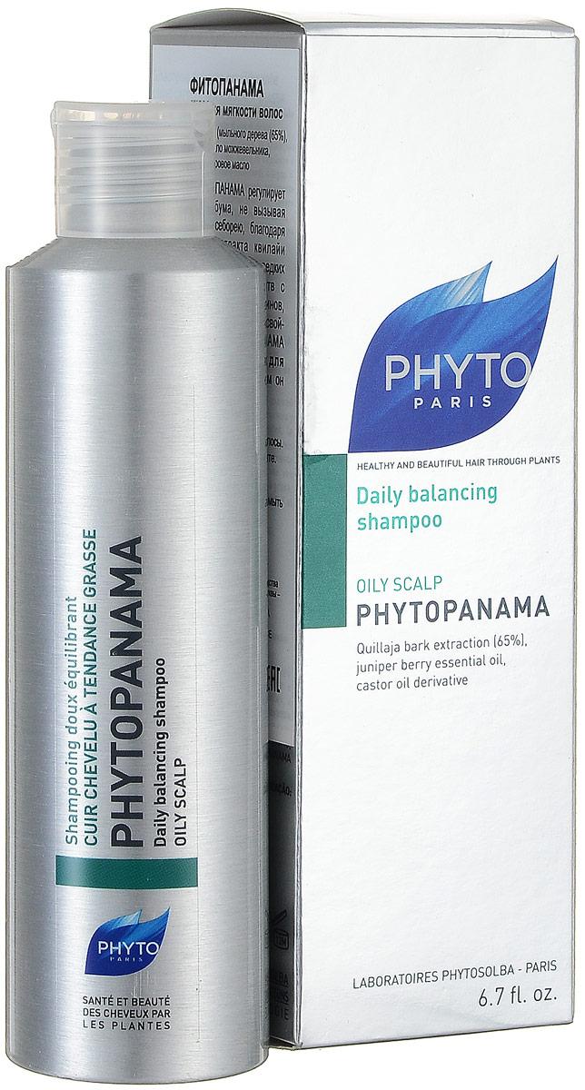 Phytosolba Шампунь Phytopanama для частого применения и мягкости волос 200 мл