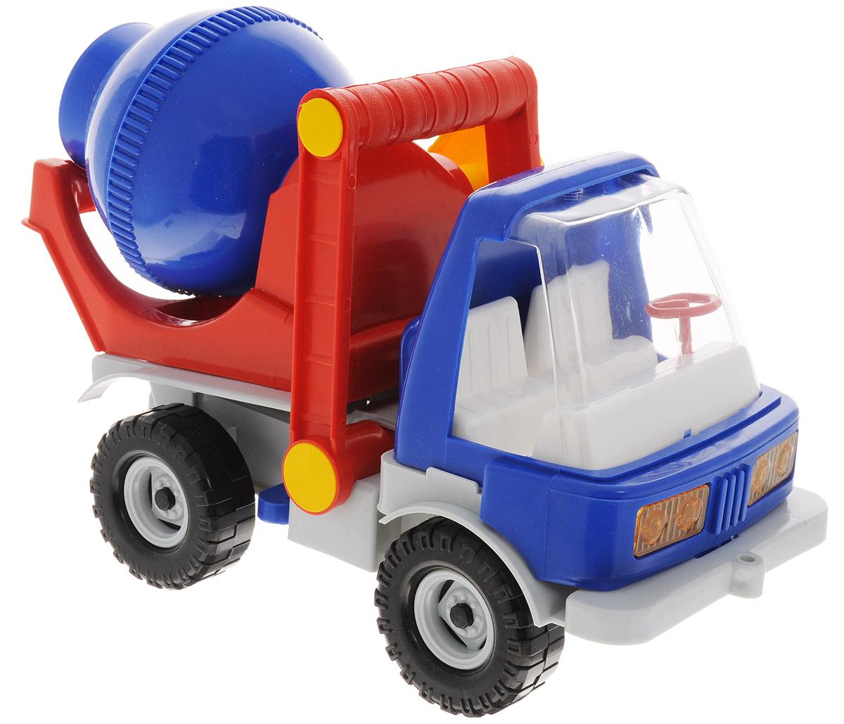 Форма БетономешалкаС-134-ФБетономешалка Форма станет главным развлечением вашего малыша. Выполненная из прочной пищевой пластмассы, игрушка долго прослужит малышу. Плотные массивные колеса, напоминающие резиновые, обеспечивают плавность хода машинки, а также устойчивость. У этой строительной машины бочка вращается при помощи ручки, и при желании ее можно останавливать, фиксируя защелкой. Так же при помощи ручки ее можно опрокидывать. Мальчику будет интересно играть с ней и развивать свой кругозор. Кроме того, у игрушки есть удобная ручка для переноски. Машинка очень яркая и безопасная.