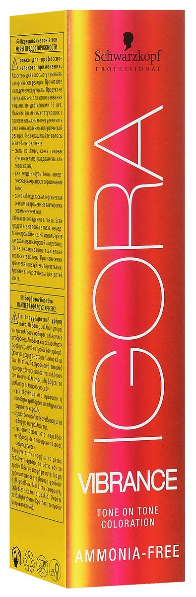 Igora Vibrance Перманентный краситель для волос 8-4 светлый русый бежевый 60 мл706808Крем-краситель без аммиака для окрашивания тон-в-тон. Цвет: светлый русый бежевый.