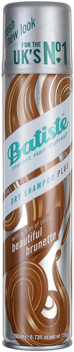 Batiste Сухой шампунь для волос Medium, для шатенок и брюнеток, 200 мл