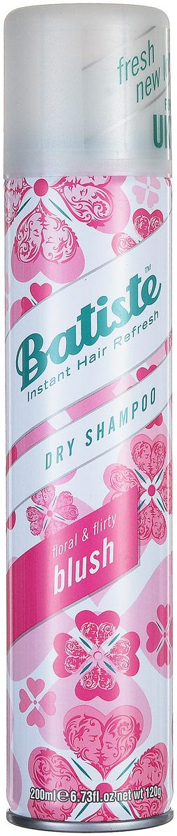 Batiste Сухой шампунь для волос Blush, с цветочно-фруктовым ароматом, 200 мл