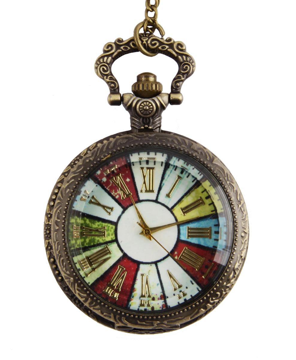 Карманные часы на цепочке в винтажном стиле. Металл, стекло, кварцевый часовой механизм. Конец XX векаОС28651Карманные часы на цепочке в винтажном стиле. Металл, стекло, кварцевый часовой механизм. Конец XX века. Длина цепочки 80 см, диаметр - 4,5 см. Сохранность хорошая. Часы в рабочем состоянии. Оригинальные карманные часы в металлическом корпусе и на цепочке. Задняя крышка богато украшена гравированным растительным орнаментом. Стильный акцент винтажного образа и оригинальная идея для подарка!