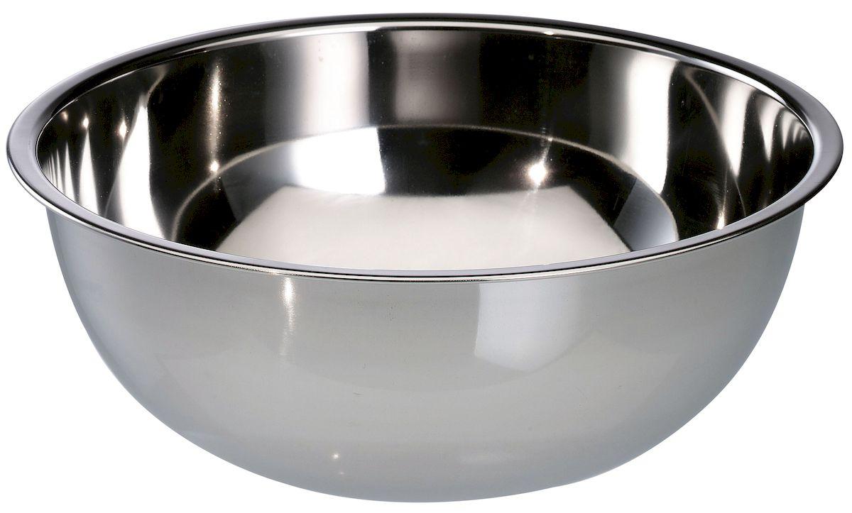 Миска Axentia, диаметр 32 см116660Миска Axentia изготовлена из нержавеющей толстолистовой стали. Удобная посуда прекрасно подойдет для походов и пикников. Прочная, компактная миска легко моется. Отлично подойдет для горячих блюд. Диаметр миски: 32 см. Объем: 7 л.