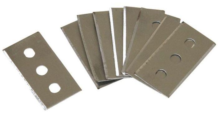 Запасные лезвия Axentia для скребка, 10 шт. 200671200671Запасные лезвия Axentia для скребка для очистки стеклокерамических плит и стеклянных поверхностей, 10 штук.
