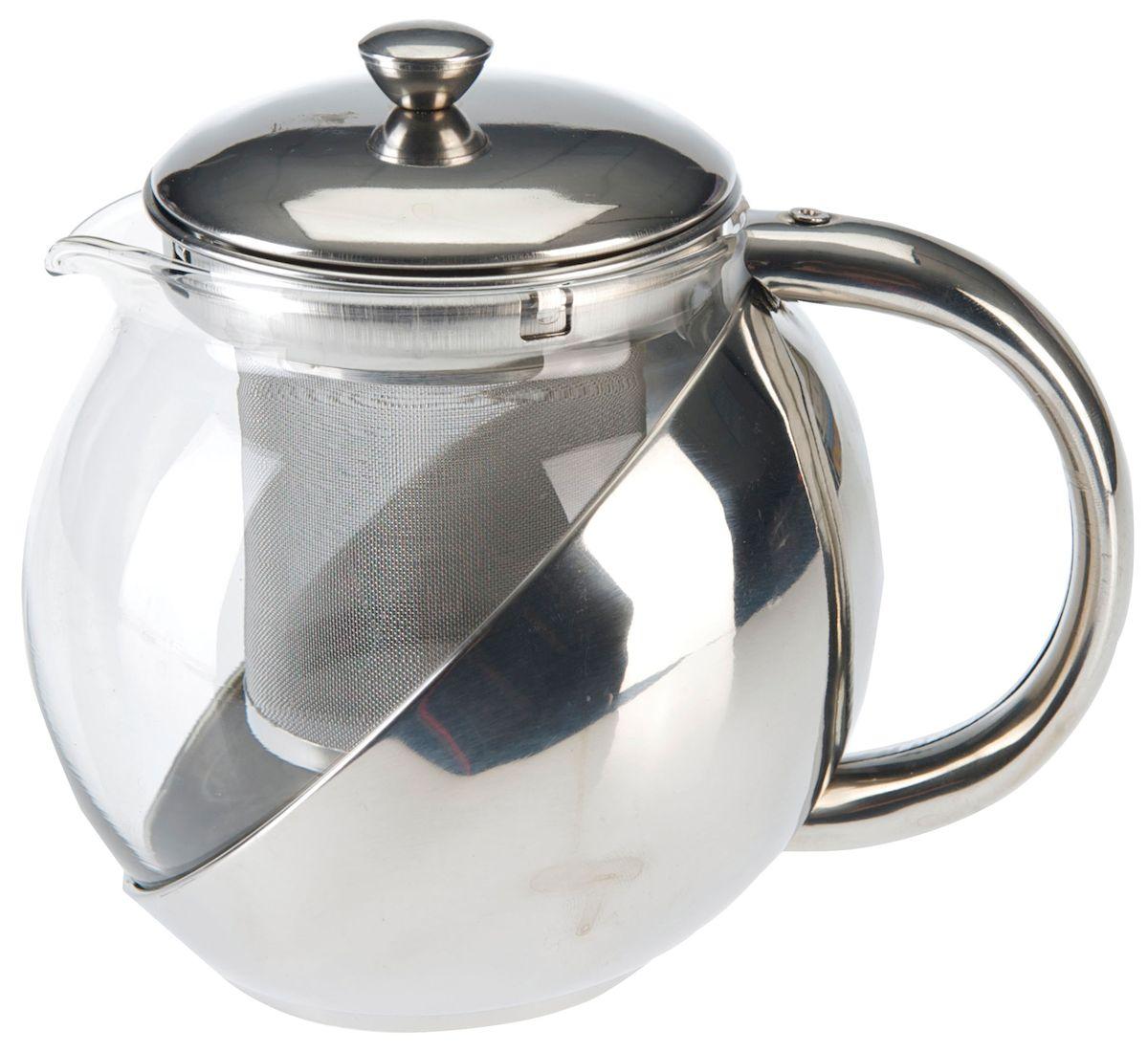 Чайник заварочный Axentia, с фильтром, 1,2 л223514Заварочный чайник Axentia, изготовленный из термостойкого стекла, предоставит вам все необходимые возможности для успешного заваривания чая. Чай в таком чайнике дольше остается горячим, а полезные и ароматические вещества полностью сохраняются в напитке. Чайник оснащен фильтром, выполненном из нержавеющей стали. Простой и удобный чайник поможет вам приготовить крепкий, ароматный чай. Нельзя мыть в посудомоечной машине. Не использовать в микроволновой печи. Диаметр чайника (по верхнему краю): 13 см. Высота чайника (без учета крышки): 15,5 см.