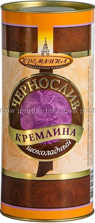 Кремлина Классика конфеты с черносливом в шоколаде, 250 г