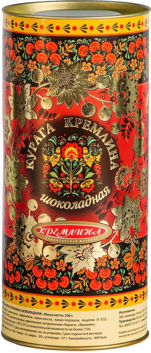 Кремлина Хохлома конфеты с курагой в шоколаде, 250 г