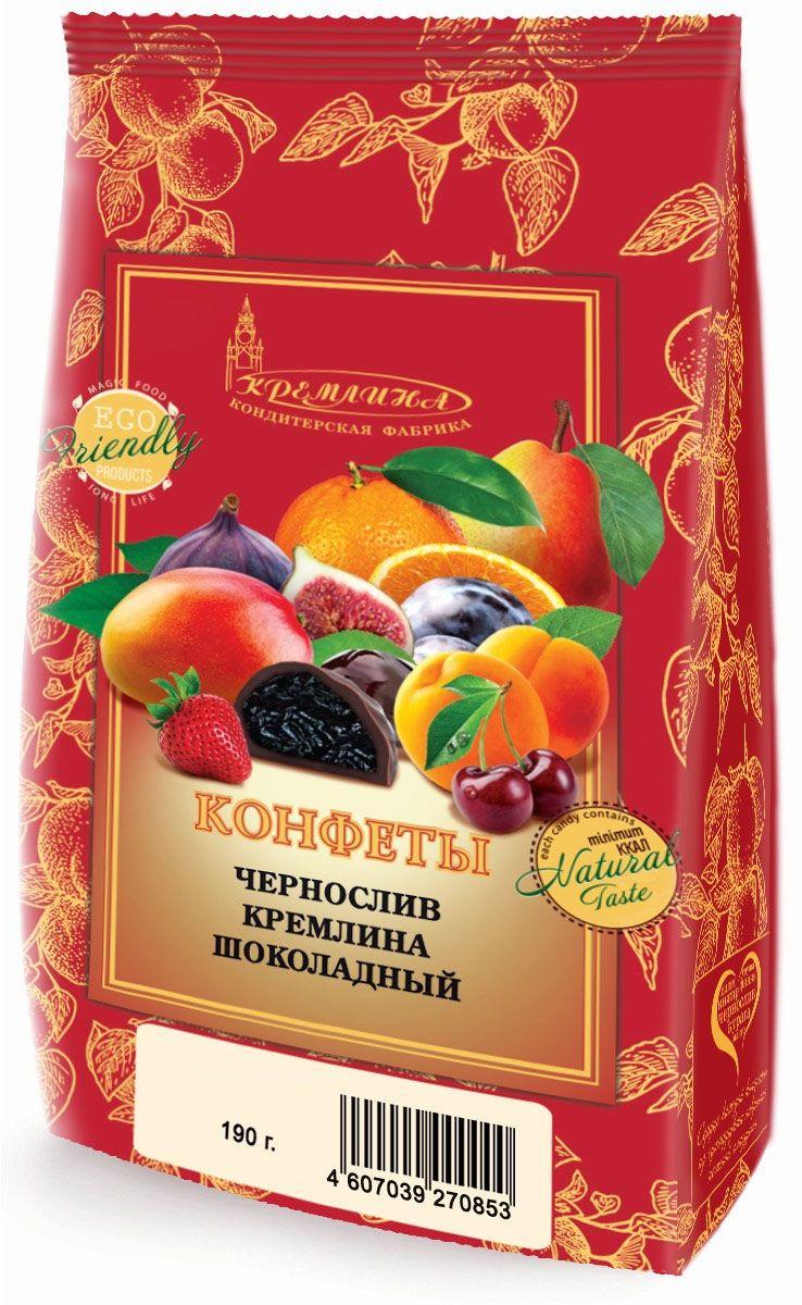 Кремлина Чернослив в шоколаде, 190 г