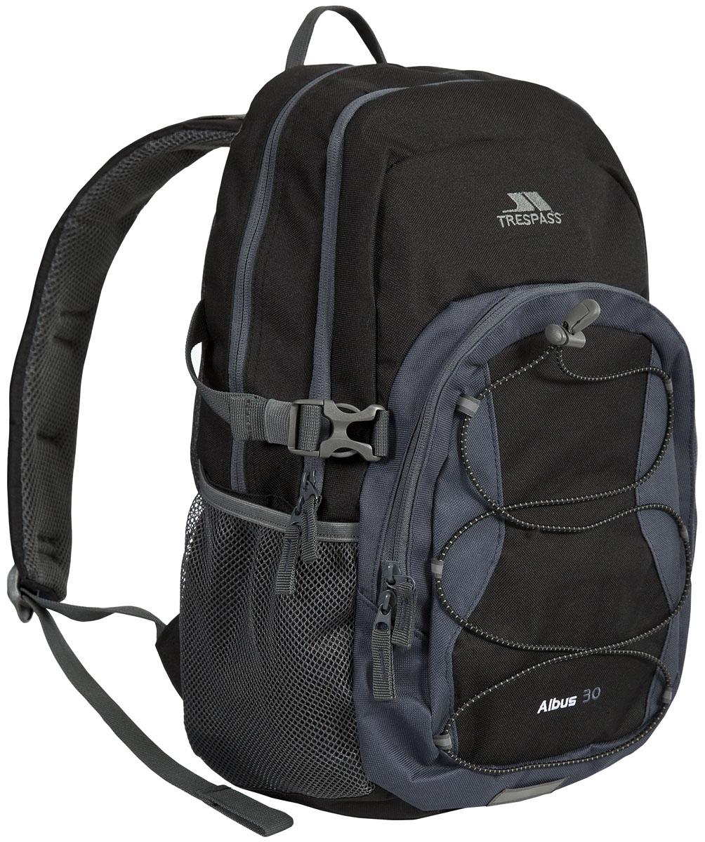 Рюкзак городской Trespass Albus, цвет: черный, серый, 30 лUUACBAC10004