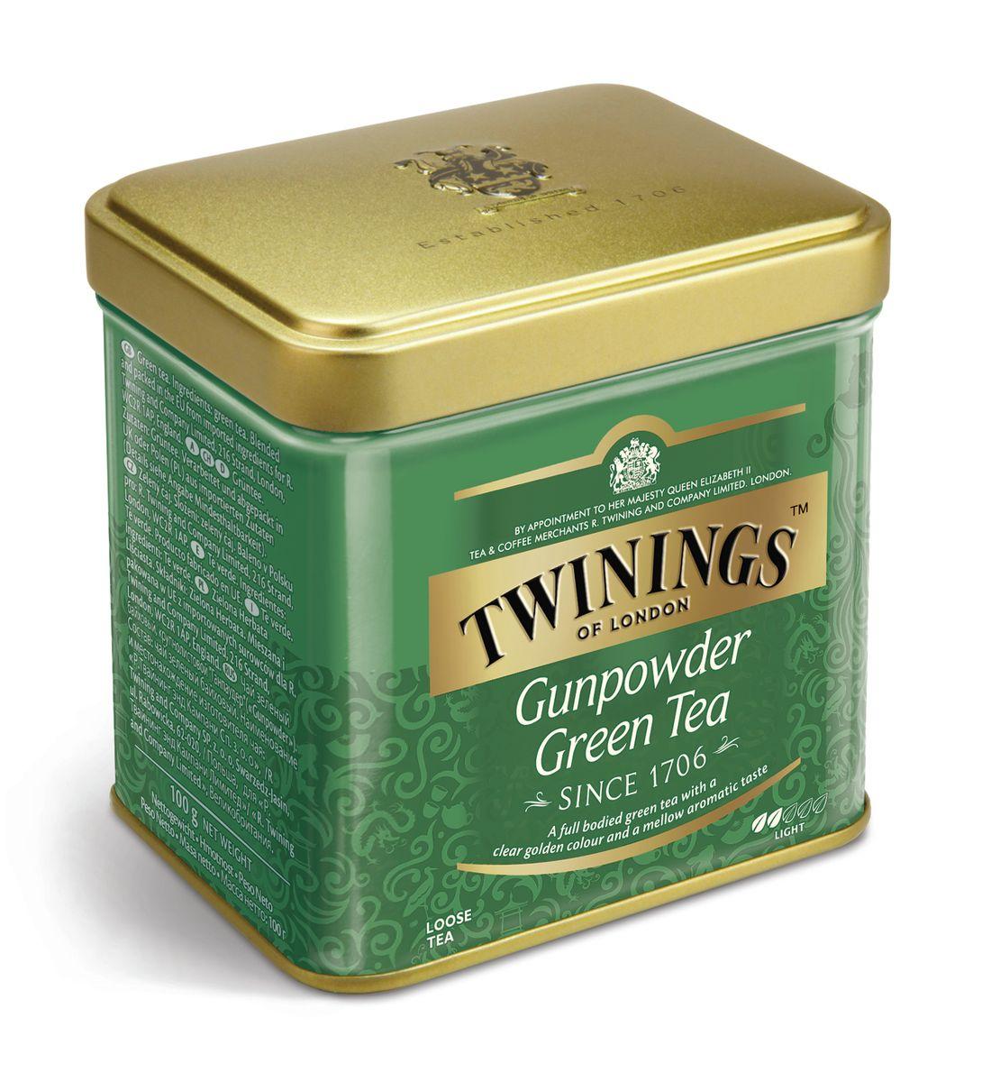 Twinings Gunpowder Green чай черный, 100 г01946