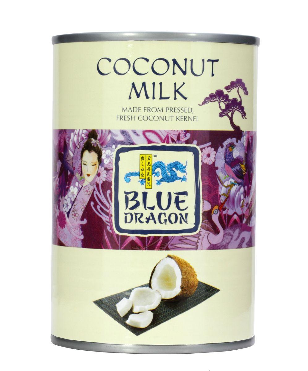 Blue Dragon Кокосовое молоко, 400 мл020763 / 222433Маслянистая жидкость насыщенного белого цвета обладает характерным сладковатым ароматом и нежным вкусом, богата кальцием, железом, витаминами группы В.