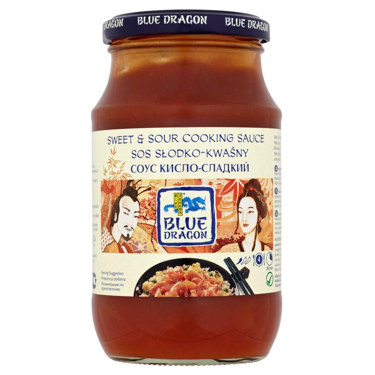 Blue Dragon Соус Кисло-Сладкий, 425 г020715Не содержит искусственных красителей и ароматизаторов, Подходит для вегетарианцев и веганов Рекомендуется подавать с жареным рисом с яйцом.