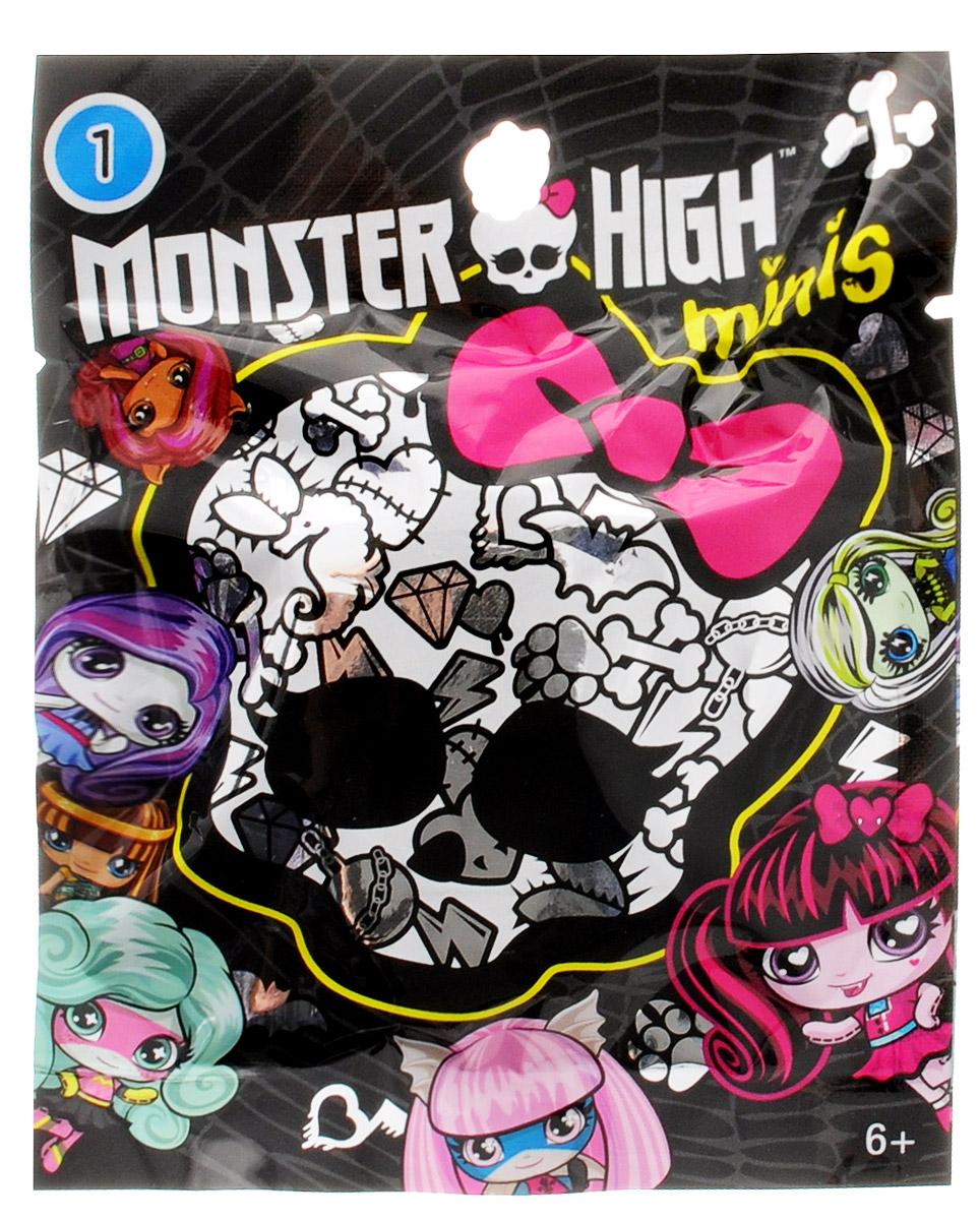Monster High minis ФигуркаDRD13_DXC94Эти мини-фигурки Monster High ужасно милые, ну просто до такой степени, что вам сразу захочется собрать их все. Каждая фигурка упакована в пакетик, и только после того, как вы его откроете, вы увидите что там за фигурка внутри. Ваша коллекция будет расти на глазах. У каждой маленькой фигурки свой фирменный стиль с монструозными деталями. Каждый наряд уникален, все прически убийственно прекрасны. Фигурки выполнены из прочного пластика. В каждой упаковке смешиваются разные темы, и вы можете расширять свою коллекцию, как вам захочется. Ищите любимых персонажей, собирайте уникальные темы Monster High.