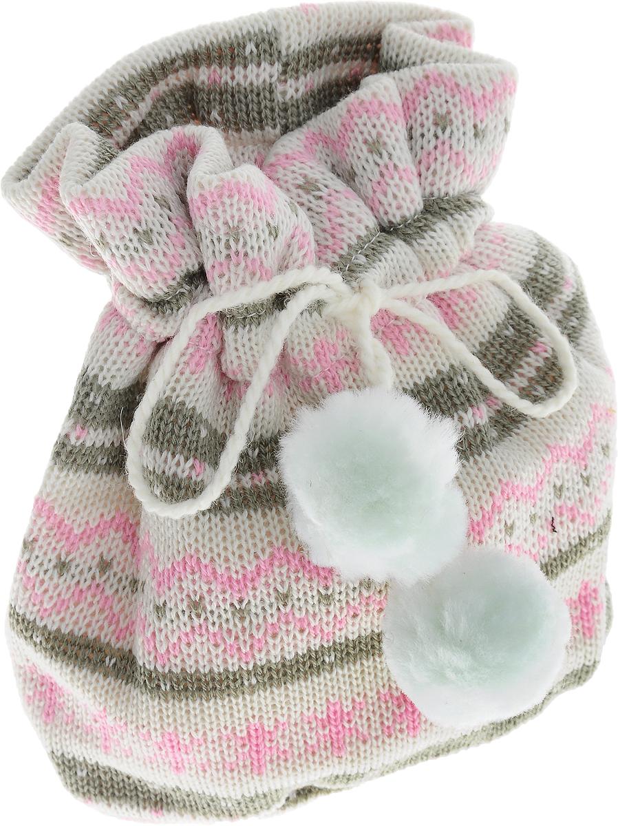 Мешок для подарков Winter Wings Жаккард светлый, цвет: белый, розовый, 20 х 17 х 1 смN02306Мешок для подарков Winter Wings Жаккард светлый выполнен из полиэстера. В мешочек можно положить подарки и спрятать под елку. Изделие очень мягкое и приятное на ощупь. С помощью специальных шнурков мешочек легко завязывается. Новогодние украшения несут в себе волшебство и красоту праздника. Они помогут вам украсить дом к предстоящим праздникам и оживить интерьер по вашему вкусу. Создайте в доме атмосферу тепла, веселья и радости, украшая его всей семьей.