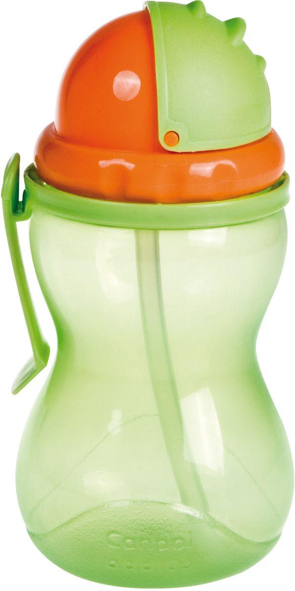 Canpol Babies Поильник от 12 месяцев 370 мл цвет зеленый