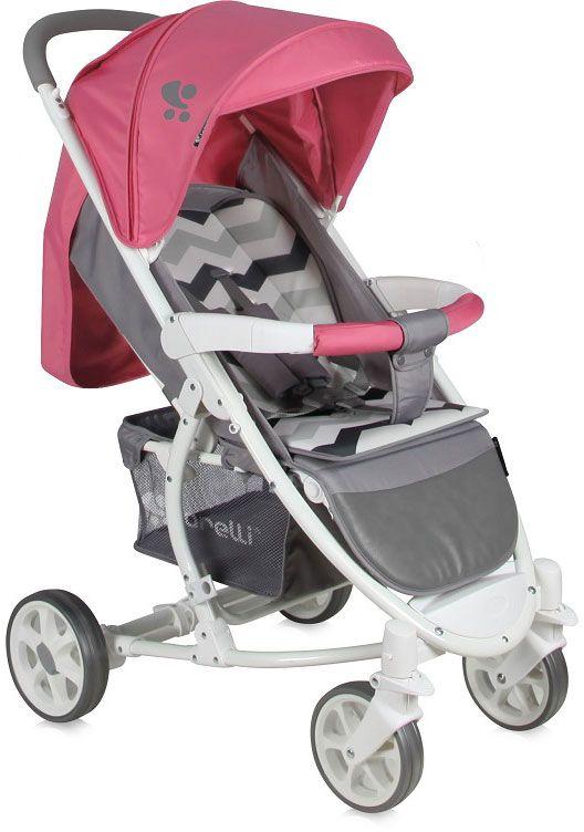 Lorelli Коляска прогулочная S-300 цвет розовый серый