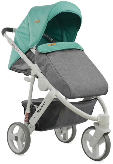 Lorelli Коляска универсальная 2 в 1 Monza-3 цвет зеленый серый3800151906988Универсальная модель коляски Lorelli Monza-3 - это идеальное приобретение для тех, кто ценит надежные, практичные вещи. Изделие удачно совмещает в себе комфортную для крохи закрытую люльку и прогулочный блок, в котором в последующем размещается более взрослый ребенок. Для этой коляски характерна очень хорошая маневренность. Размеры ее компактны, а механизм складывания абсолютно прост. Обивка сделана из мягких и приятных на ощупь материалов. Они обладают гипоаллергенными свойствами и делают прогулки малыша еще более комфортными. Коляска облегченной конструкции и современного дизайна проста в управлении благодаря передним поворотным колесам. Многопозиционная спинка с возможностью полного горизонтального положения. Сиденье можно установить в двух положениях: лицом к маме либо по направлению движения. Предусмотрены задние амортизаторы, удобная телескопическая ручка, регулируемая подножка. В комплект входят сумка для мамы, чехол на ножки и большая корзина для покупок,...
