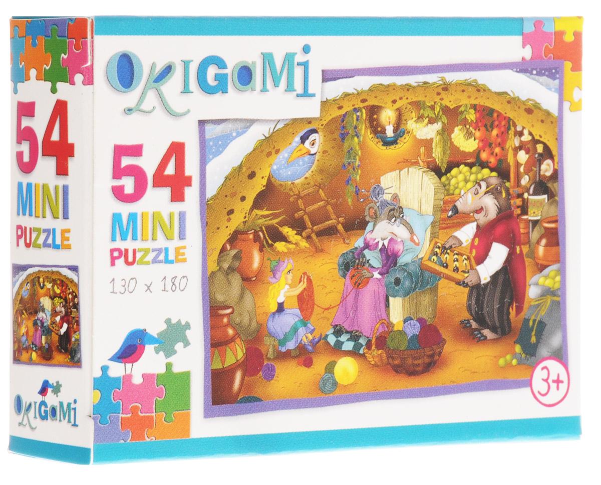 Оригами Пазл для малышей Дюймовочка