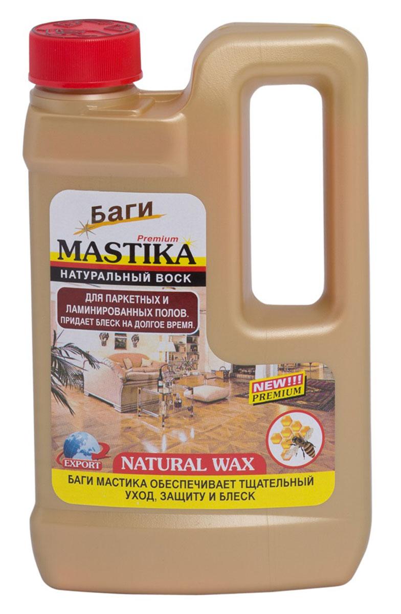 Средство для паркетных и ламинированных полов Bagi Мастика, 500 млH-395422-0средство с натуральным воском для паркетных, ламинированных и деревянных полов