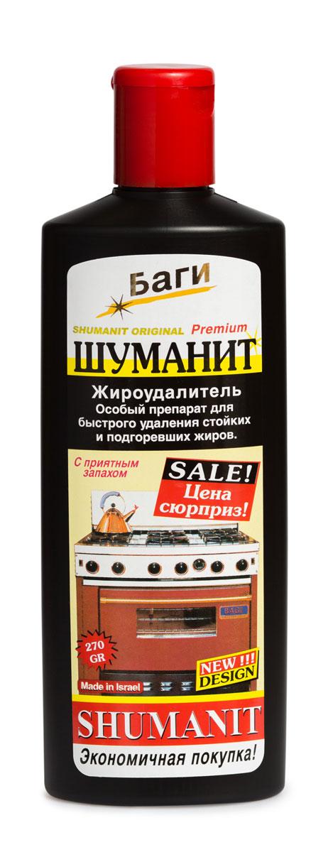 Удалитель жира Bagi Шуманит, 270 млK-208580-0эффективный препарат для удаления стойких и подгоревших жиров с плит, кастрюль, сковород, раковин, кафеля и др. поверхностей