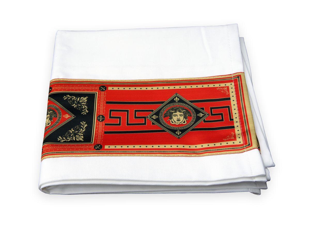 Рушник GiftnHome Версаль, 45 х 74 смTWL - ВерсальРушник изготовлен из натурального материала Молескин - прочная хлопчатобумажная ткань, очень приятная и мягкая на ощупь! Декор выполнен из атласа(искусственный шелк)