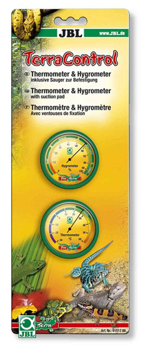 Термометр и гигрометр для террариума JBL TerraControlJBL6151700JBL TerraControl - Термометр и гигрометр для террариума
