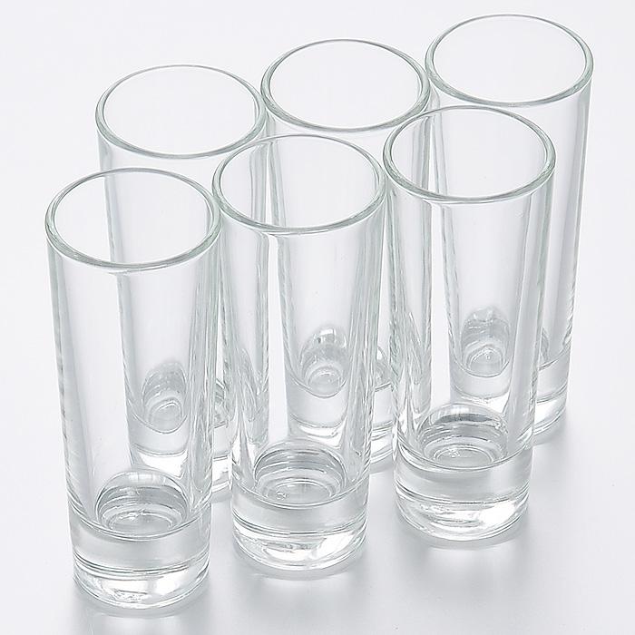 Набор стопок Luminarc Нью-Йорк, 50 мл, 6 штH5018Набор Luminarc Нью-Йорк состоит из шести стопок, выполненных из высококачественного стекла. Стопки предназначены для подачи крепких алкогольных напитков. Они сочетают в себе элегантный дизайн и функциональность. Благодаря такому набору стопок пить напитки будет еще приятнее. Набор стопок Luminarc Нью-Йорк идеально подойдет для сервировки стола и станет отличным подарком к любому празднику. Характеристики: Материал: натрий-кальций-силикатное стекло. Объем стопки: 50 мл. Диаметр стопки по верхнему краю: 4 см. Высота стопки: 10,5 см. Диаметр основания стопки: 3,2 см. Комплектация: 6 шт.