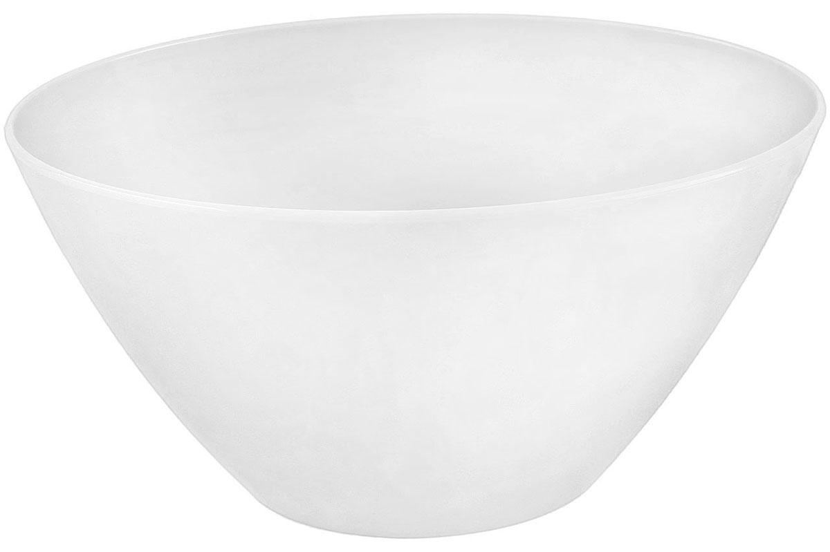 Кашпо Idea Овал, 1,4 л, цвет: белыйМ 3108