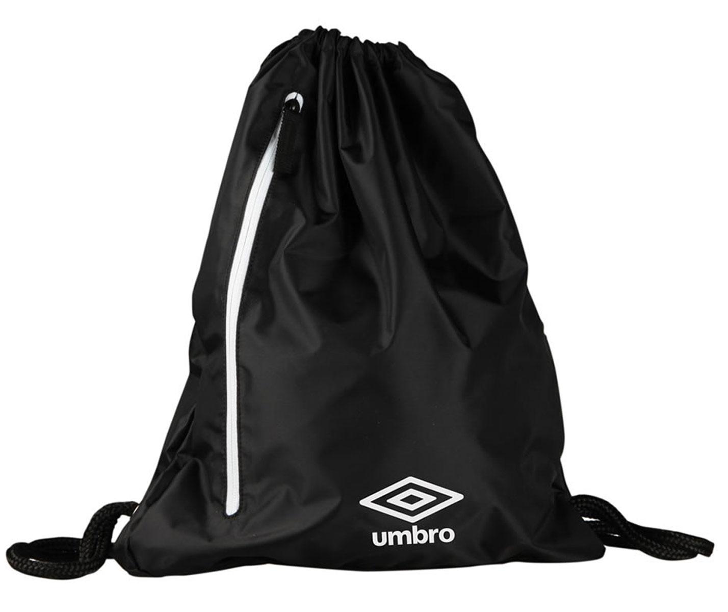 Рюкзак спортивный Umbro Gymsack, цвет: черный, белый. Размер M. 30400U30400U