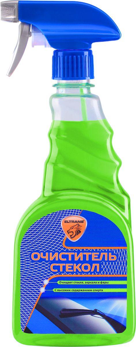 Очиститель стекол Eltrans, 500 млEL-0403.01Очиститель стекол Eltrans идеально очищает стекла, зеркала и фары от дорожных загрязнений и следов насекомых, с внутренней стороны стекол эффективно удаляет никотиновые отложения. Действует мгновенно, формула очистителя с высоким содержанием спирта придает стеклам блеск без разводов и максимальную прозрачность. Улучшает обзорность и повышает безопасность движения. Подходит для очистки любых тонированных стекол. Безопасен для лакокрасочного покрытия, хромированных, пластиковых и резиновых поверхностей. Товар сертифицирован.