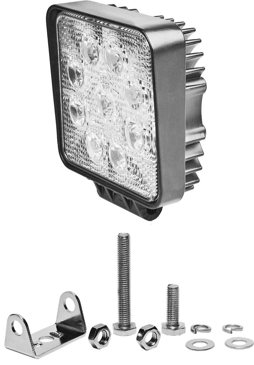 Фара светодиодная дополнительная Главдор S-30 degree, 24W, 8 диодов, 12/24В, 115х50х115 мм. GL-414GL-414Дополнительный источник освещения в металлическом корпусе, на основе светодиодных источников света. Крепление в комплекте.