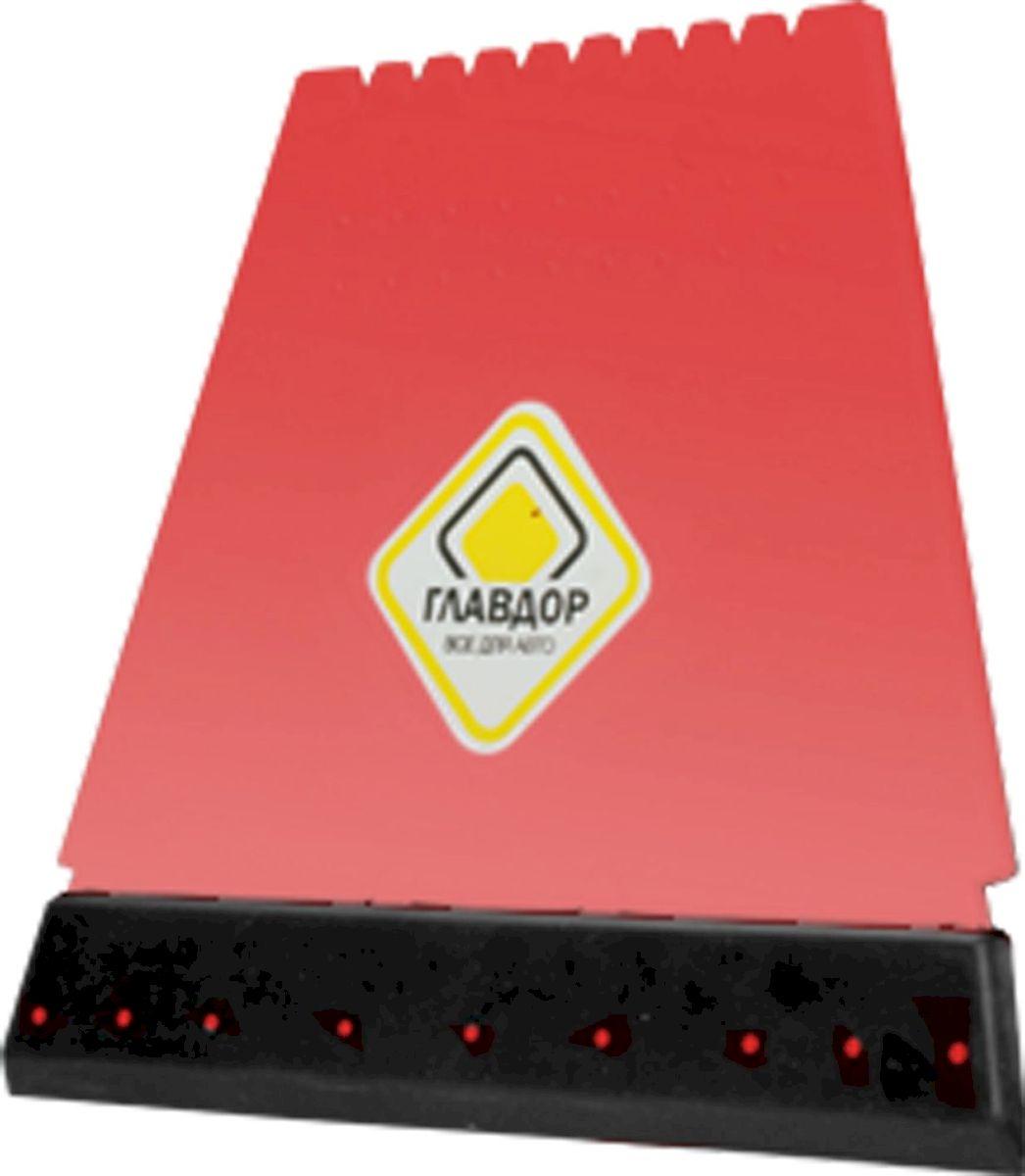 Скребок Главдор, четырехсторонний, цвет: красныйGL-507Продуманный до мелочей скребок для льда и сгона воды, в котором задействованы все четыре стороны для более эффективного удаление нежелательной наледи с поверхности автомобиля. Имеет два тонких лезвия по бокам, резиновый сгон и разрыхлитель наледи. Удобно лежит в руке, а хранение не занимает много места.