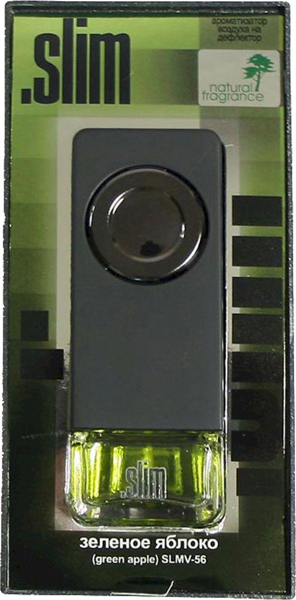 Ароматизатор автомобильный FKVJP Slim. Зеленое яблоко, на дефлектор, 8 млSLMV 56