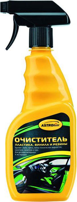 Очиститель пластика ASTROhim, 500 млАС-365Очиститель пластика ASTROhim обладает глубоким очищающим эффектом: проникает в микротрещины и поры пластика, растворяет и поднимает на поверхность частички грязи. Возвращает пожелтевшим пластиковым деталям первоначальный внешний вид, значительно обновляя их. Устраняет неприятные запахи, такие как въевшийся запах табака, оставляя в салоне приятный аромат. Может использоваться для очистки как внутренних, так и любых внешних деталей из пластика, винила и резины, в том числе для шин. Очиститель не обесцвечивает пластик, так как не содержит растворители. Товар сертифицирован.