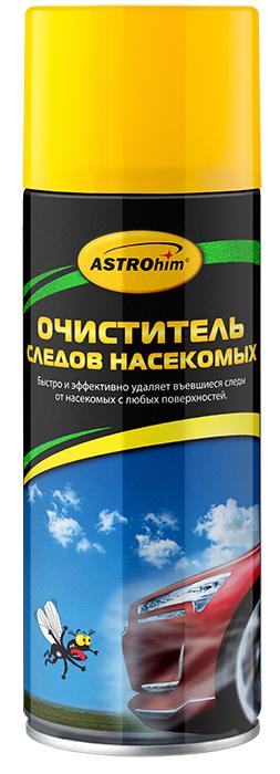 Очиститель следов насекомых Astrohim, аэрозоль 520 мл. АС-4155АС-4155Очиститель следов насекомых Astrohim Ас-4155 аэрозоль 520 мл