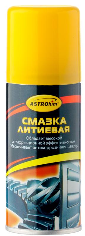 Смазка литиевая ASTROhim, 140 млАС-4521Смазка литиевая ASTROhim - это высококачественная смазка для ухода за автомобилем, разнообразного бытового и промышленного использования. Предназначена для смазывания резьбовых соединений, подшипников качения и скольжения, шарниров, зубчатых, червячных и иных передач, индустриальных механизмов и другой техники. Устраняет неприятный скрип и скрежет дверных петель, снижает вероятность заклинивания тросов, приводов, замков, защищает клеммы аккумуляторов от окисления. Аэрозольная форма выпуска позволяет смазывать механизмы без разборки или демонтажа защитных кожухов. Смазка обладает высокой антифрикционной эффективностью, химической стойкостью, механической стабильностью, надежно защищает стальные детали от коррозии. Не густеет на морозе, не стекает в жарких погодных условиях, предназначена для использования в диапазоне температур от -40°С до +120°С. Товар сертифицирован.