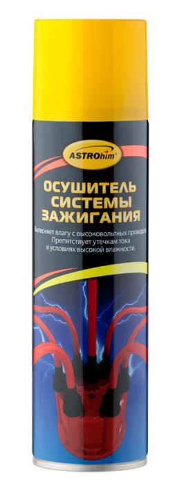 Осушитель системы зажигания Astrohim, аэрозоль, 335 мл. АС-465АС-465Осушитель системы зажигания Astrohim Ас-465 аэрозоль, 335 мл