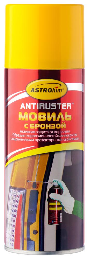 Мовиль Astrohim, с бронзой, аэрозоль, 520 мл. АС-4815АС-4815Мовиль Astrohim Ас-4815 с бронзой, аэрозоль, 520 мл