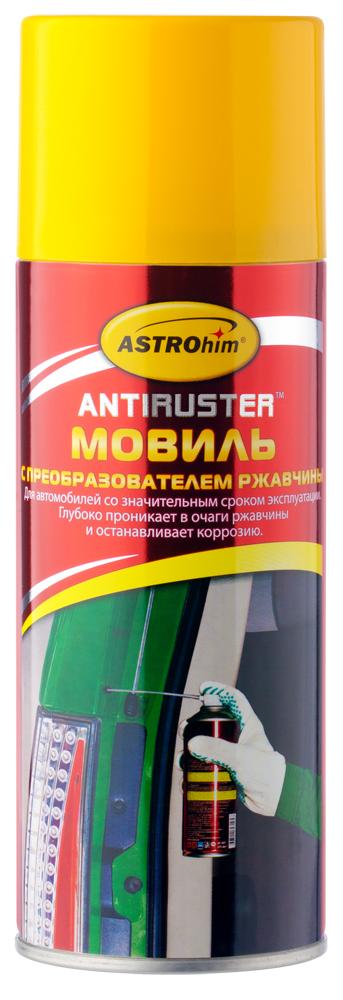 Мовиль Astrohim, с преобразователем ржавчины, аэрозоль, 520 мл. АС-4825АС-4825Мовиль Astrohim Ас-4825 с преобразователем ржавчины, аэрозоль, 520 мл