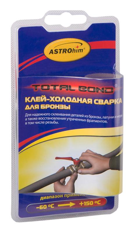 Клей-холодная сварка Astrohim, для бронзы, 55 г. АС-9309АС-9309Клей-холодная сварка для бронзы Astrohim Ас-9309 в блистере, 55 г