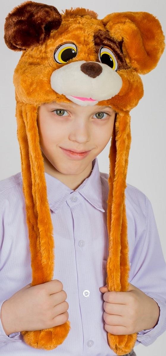 Карнавалия Карнавальная шляпа Песик размер 54 9105491054Карнавальная шляпа Карнавалия Песик выполнена из мягкого бархатистого полиэстера. Изделие представляет собой шапку в виде головы собачки с длинными лапами. Такая карнавальная шляпа великолепно дополнит образ вашего персонажа, подчеркнет его характер и сформирует облик в целом. Если у вас намечается веселая вечеринка или маскарад, то такая шляпа легко поможет создать праздничный наряд. Внесите нотку задора и веселья в ваш праздник. Веселое настроение и масса положительных эмоций вам будут обеспечены!